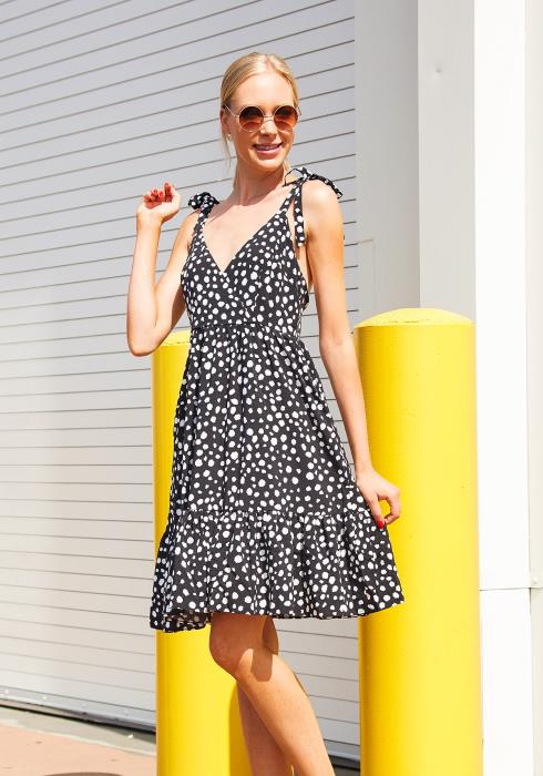 Tansy Open Back Sun Dress