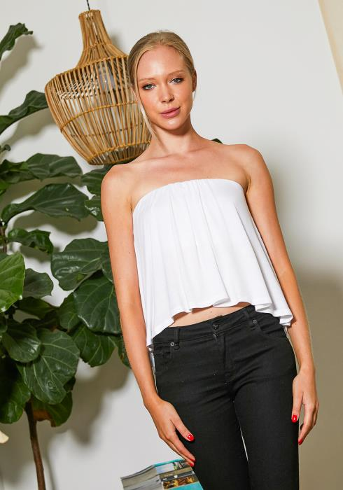 Tansy Angel Wing Tube Top