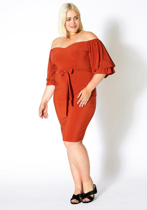 Asoph Plus Size Bloody Marry Party Dress