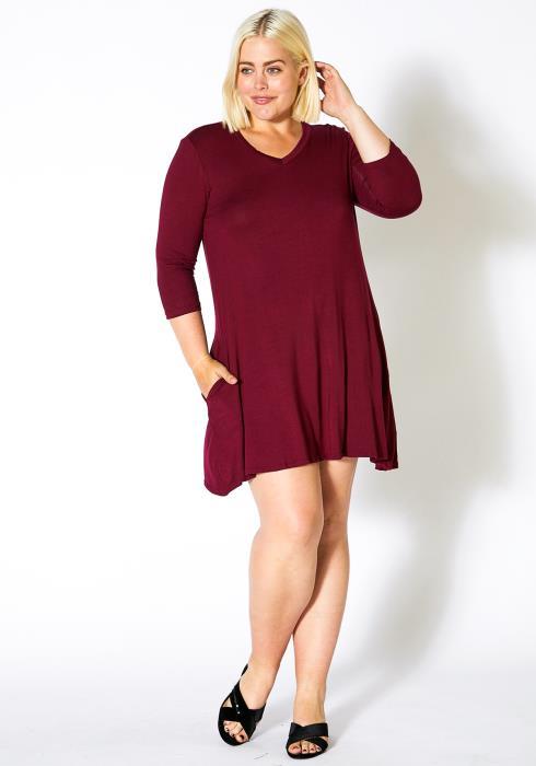 Asoph Plus Size Simple Women