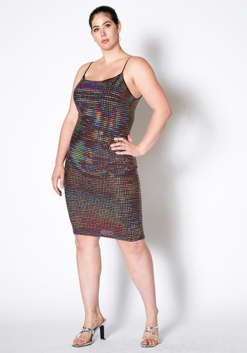 Asoph Plus Size The Night Is Young Dress