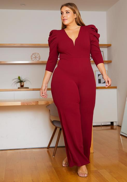Asoph Plus Size Party Ready Jumpsuit
