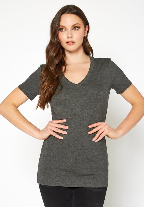 Bellatrix V-Neck Short Sleeve Basic Tee