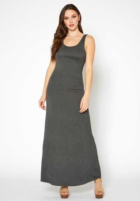 Bellatrix Womens Sleeveless Scoop Neck Maxi Dress
