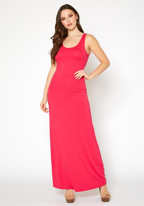 Bellatrix Womens Sleeveless Scoop Neck Maxi Dress