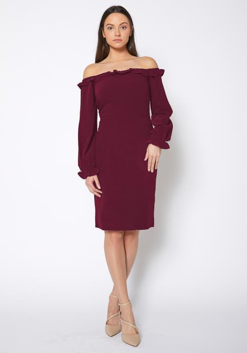 RO & DE Off Shoulder Bodycon Dress