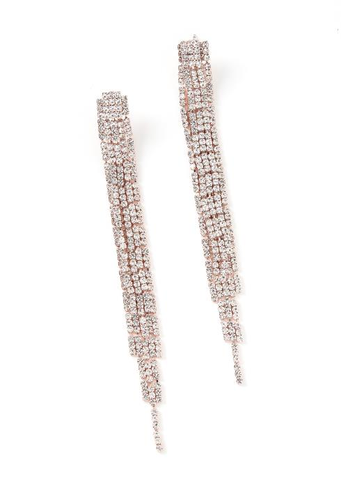 Gabriella Diamond Tassel Drop Earrings