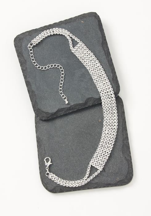 Asoph Teresina Crystal Choker Necklace