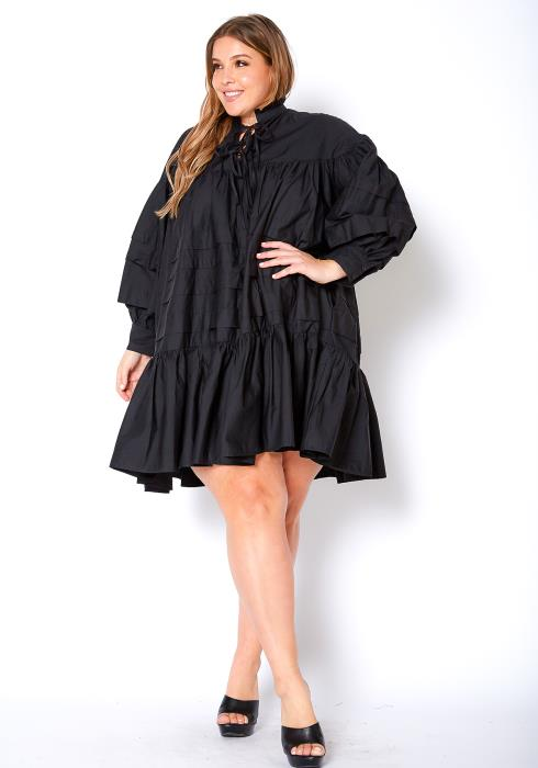 Asoph Plus Size Tiered 60