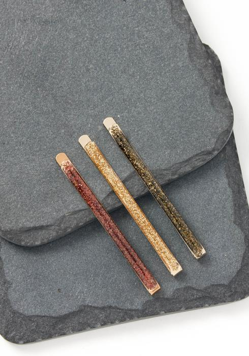 Lucy Vintage Color Shimmer Bobby Pin Set