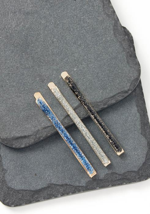 Lucy Sky Color Shimmer Bobby Pin Set