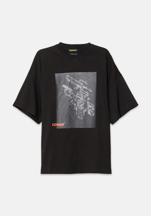 Konus Oversize Short Sleeve Graphic Tee