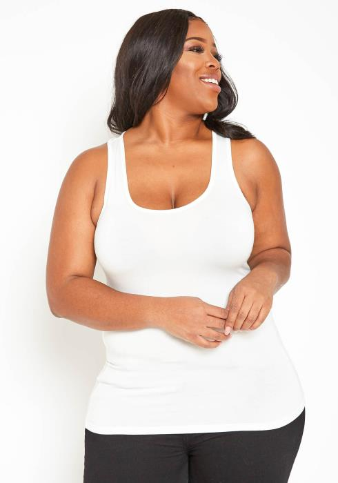 Asoph Plus Size Casual Everyday Tank Top