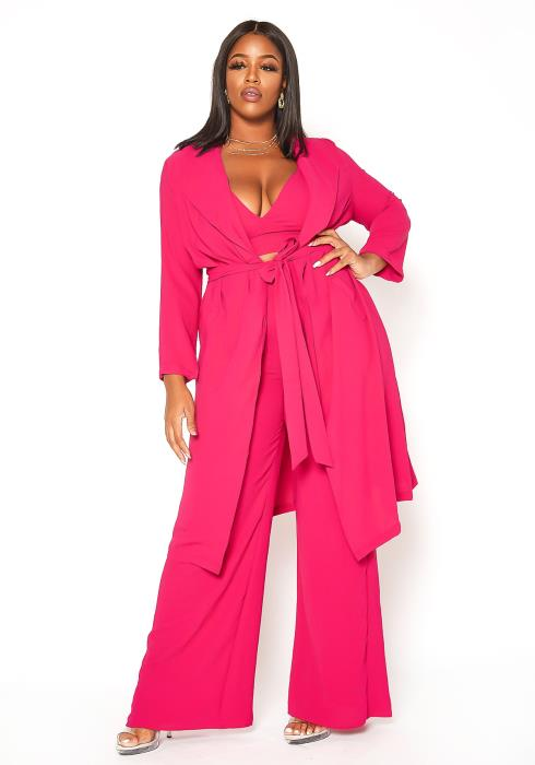 Asoph Plus Size Looking Good Three Piece Set