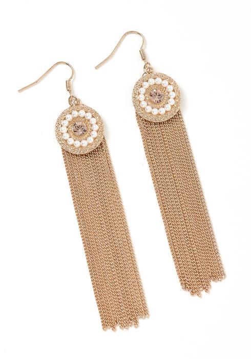 Mykonos Antique Drop Earrings