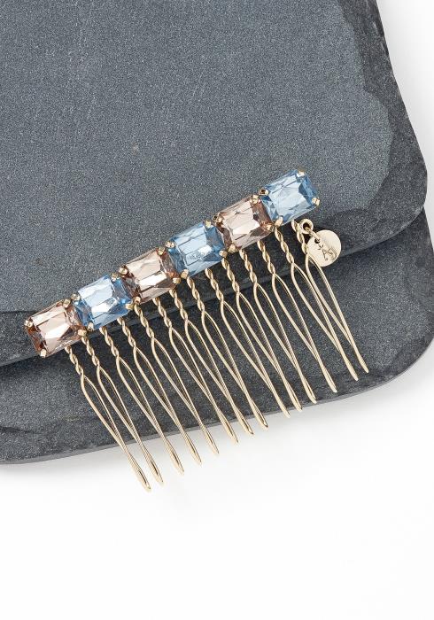 Niwot Multi Color Stone Hair Pin