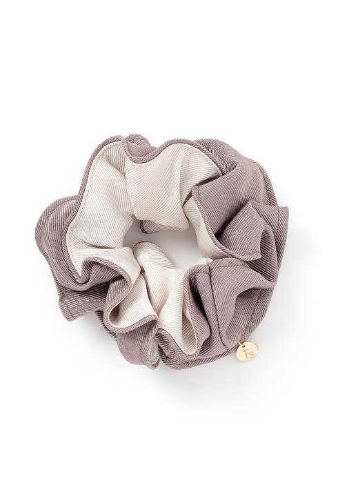 Kaylee Color Contrast Hair Tie Scrunchie
