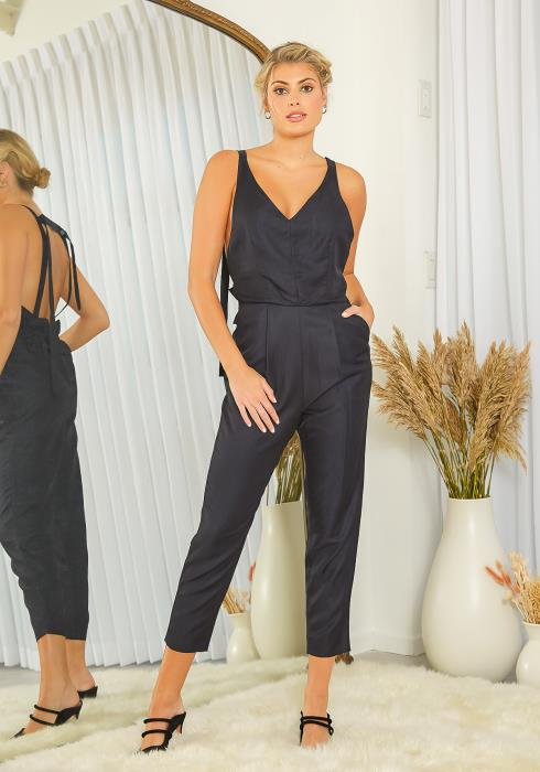 NDS Jumpsuit With Ruffle Back Waist