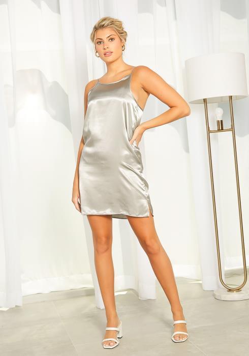 NDS Satin Slip Dress