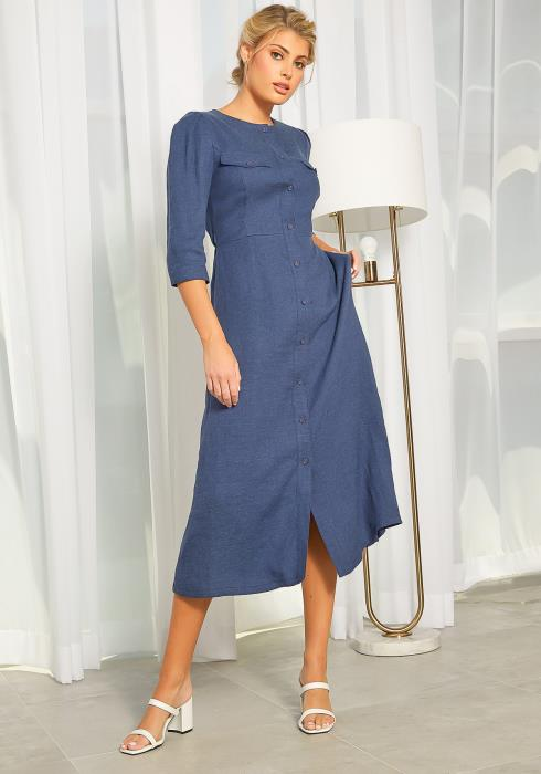 NDS Linen Button Up Dress