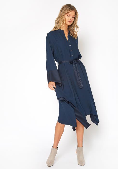 NDS Unbalanced Hem Midi Dress