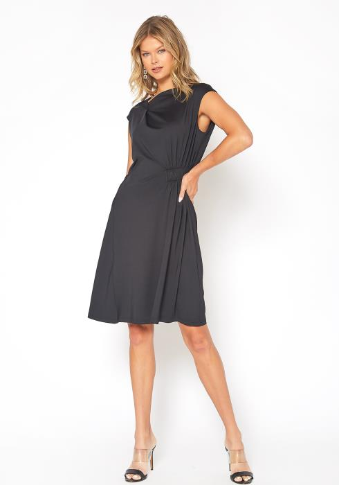 NDS Knit Jersey Dress With Elastic Detail