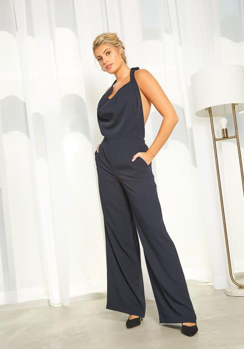 New Designers Space Halter Neck Jumpsuit