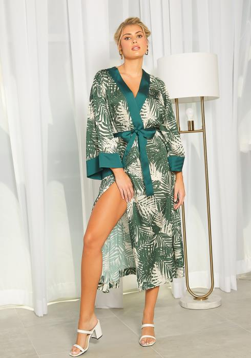 NDS Tropical Print Duster Robe