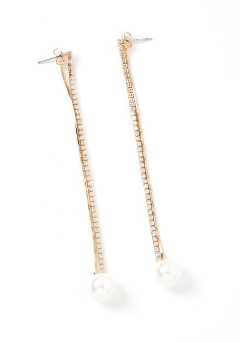 Destiny Pearl Drop Earrings