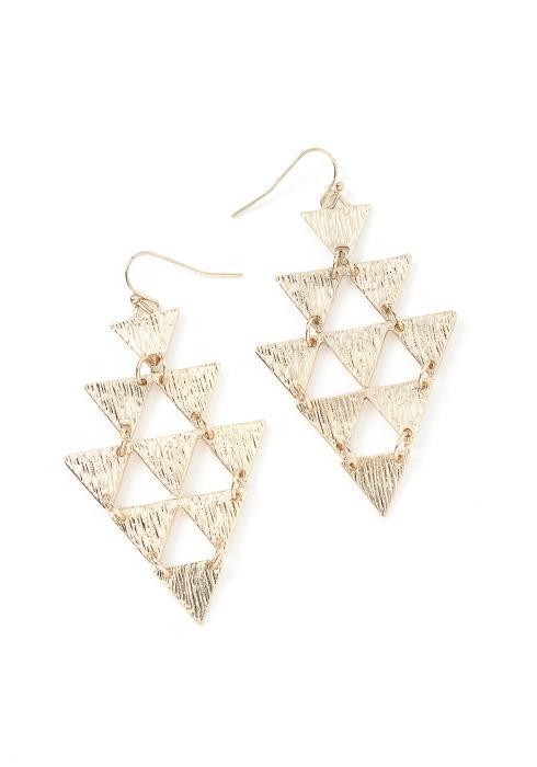 Ximena Triangle Drop Earrings