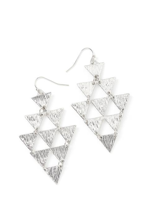Ximena Triangle Drop Earrings