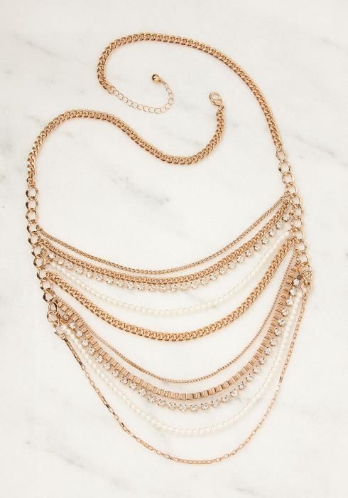 Serena Drape Layer Necklace