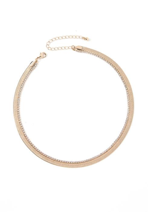 Melody Golden Tier Choker Necklace