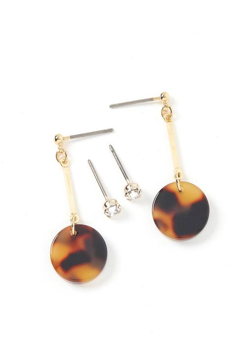 Geneva Marble Earring Set