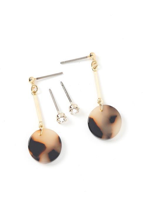 Geneva Marble Earring Set