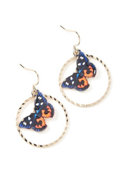 Butterfly Effect Mini Hoop Earrings
