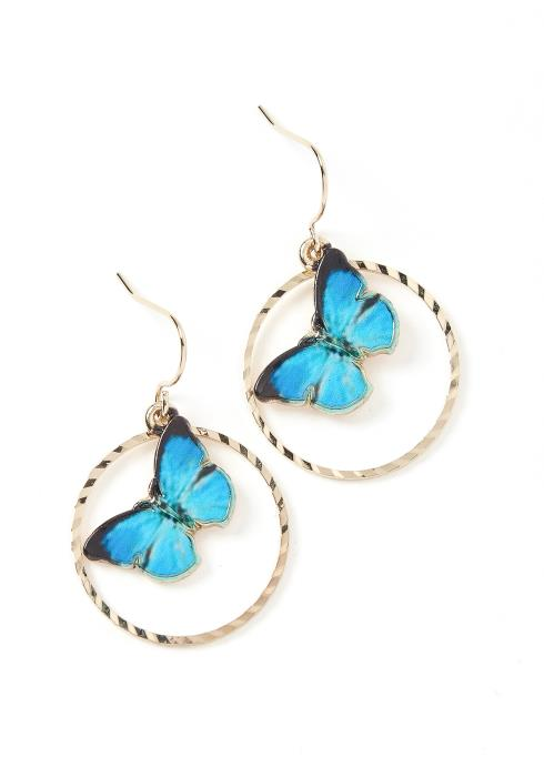 Butterfly Effect Mini Hoop Earrings