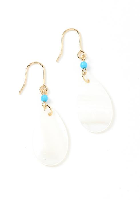 Mesmerized Iridescent Drop Earrings