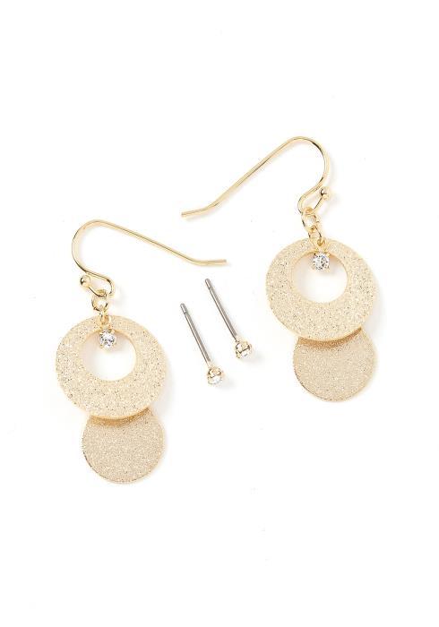 Lindsey Gold Earring Set