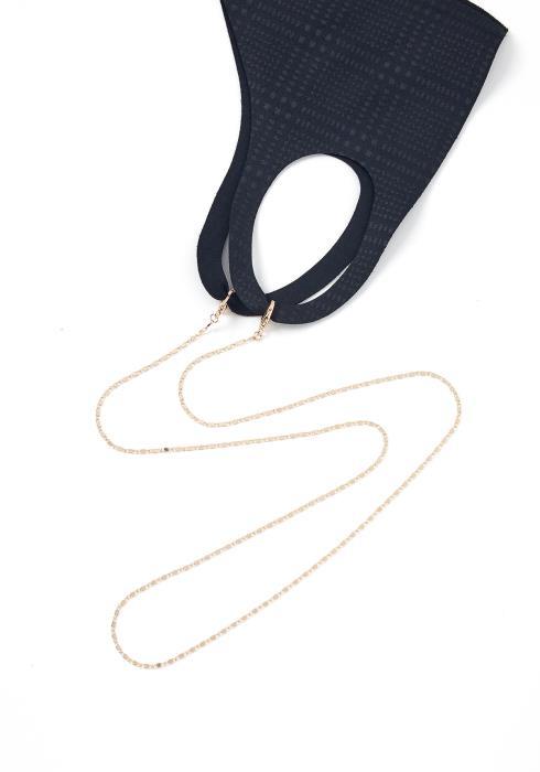 Roscoe Gold Eyewear & Mask Chain