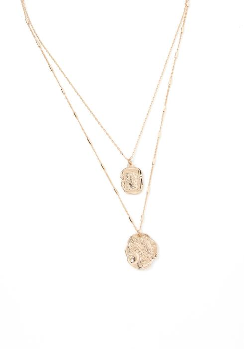 Hico Layered Pendant Necklace