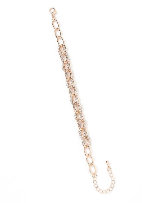 Skylar Chain Link Diamond Bracelet