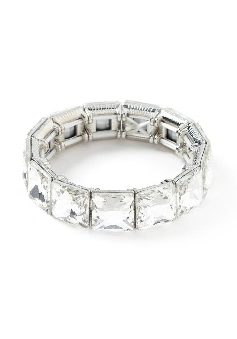 Vallery Diamond Jewel Bracelet Cuff