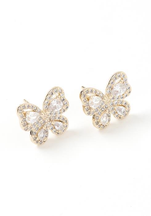 Mariposa Butterfly Stud Earrings