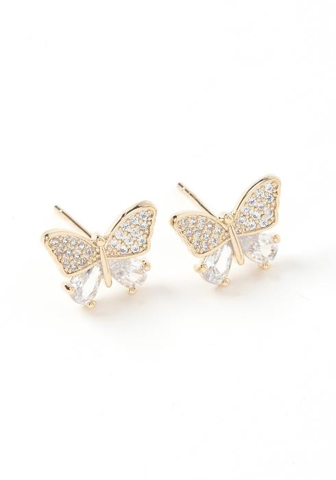 Butterfly Kiss Stud Earrings