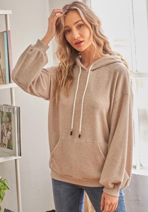 CY Fashion Casual Knitwear Hoodie