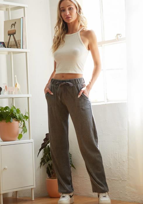 CY Fashion Straight Leg Lounge Pants