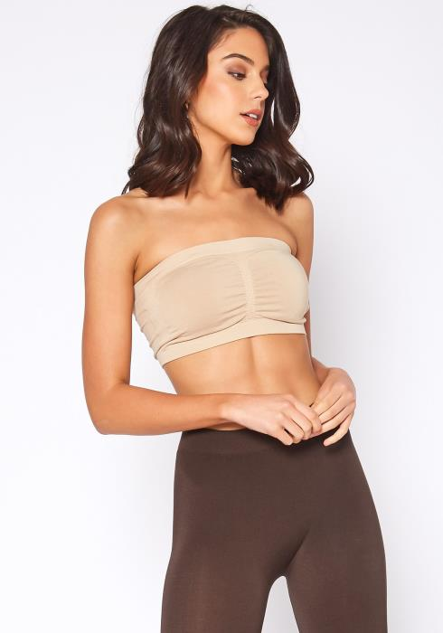 Eco Zone Scrunch Detail Bandeau Top