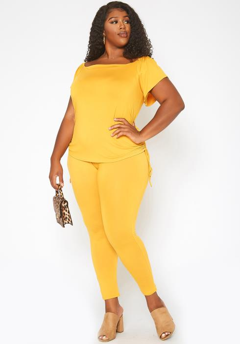 Asoph Plus Size Sunny Day Two Piece Set