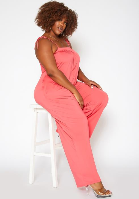 Asoph Plus Size Relaxed Fit Cami Jumpsuit
